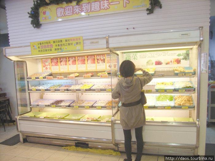 Выбор компонентов для тайваньского супа