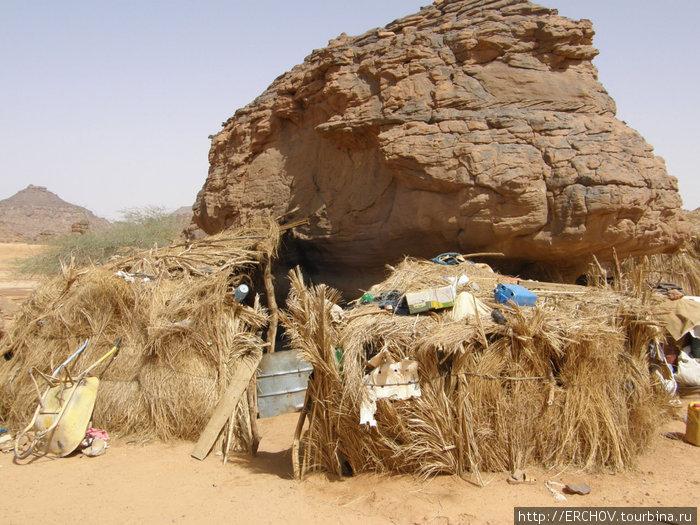 Жилище туарегов