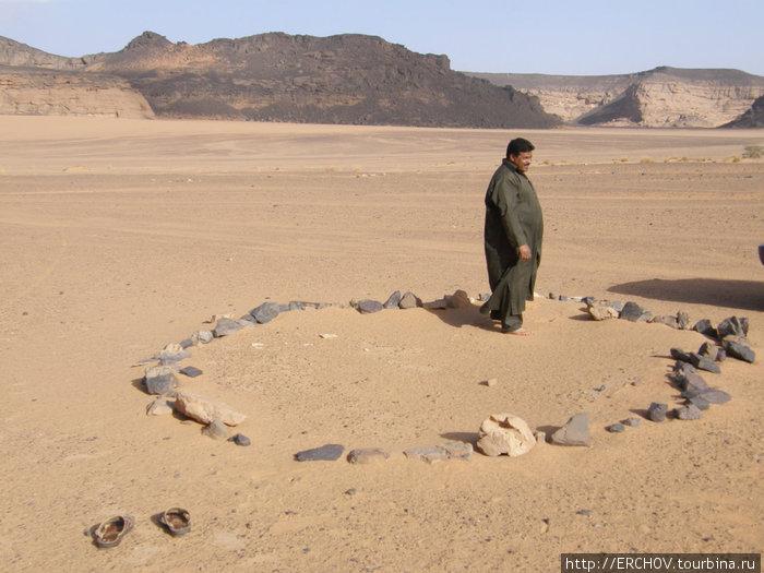 Данное огороженное камнями простраство мечеть.