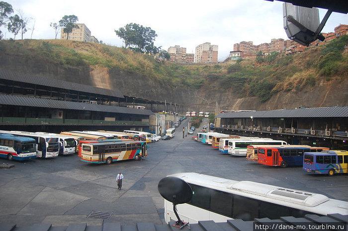 Автовокзал Каракаса