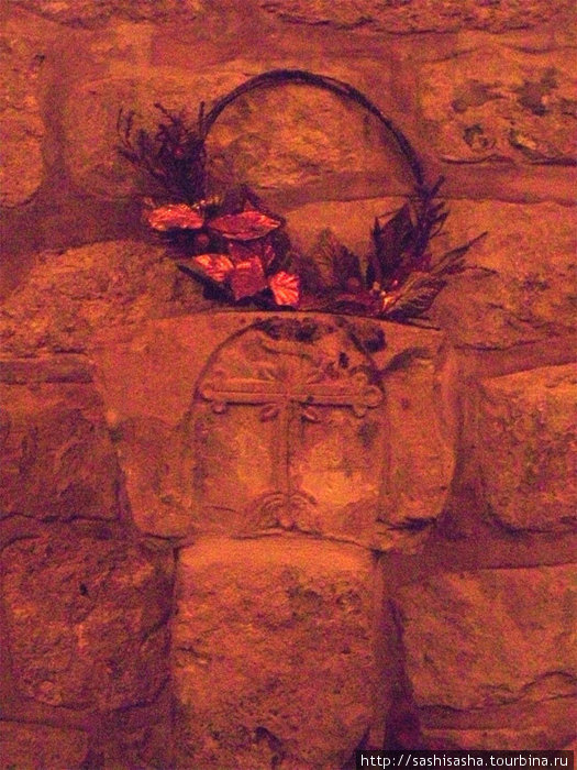 В храме Георгия Победоносца