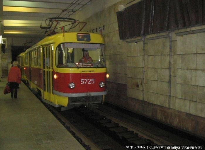 Внешний вид скоростного трамвая