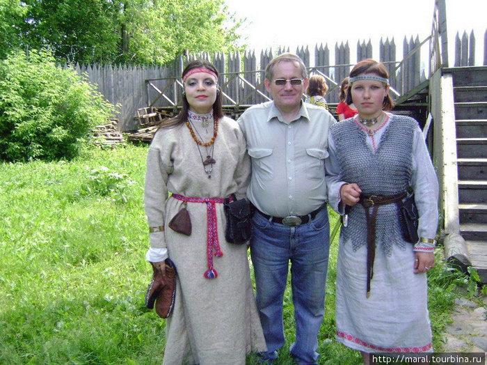Русские амазонки. Реконструированное поселение Усть-Шексна — предтеча современного Рыбинска. А вот так в XI веке выглядели его жительницы — воительницы