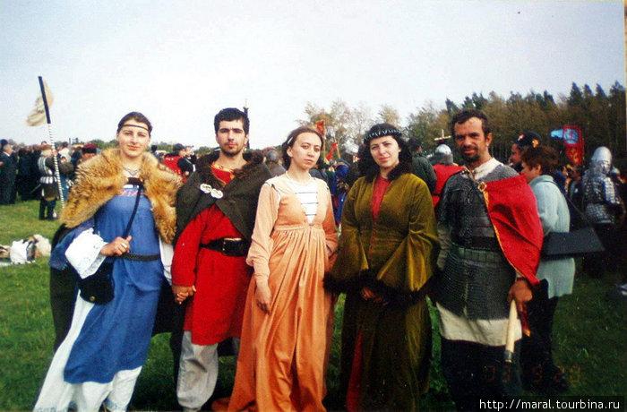 Руководители рыбинских военно-исторических клубов