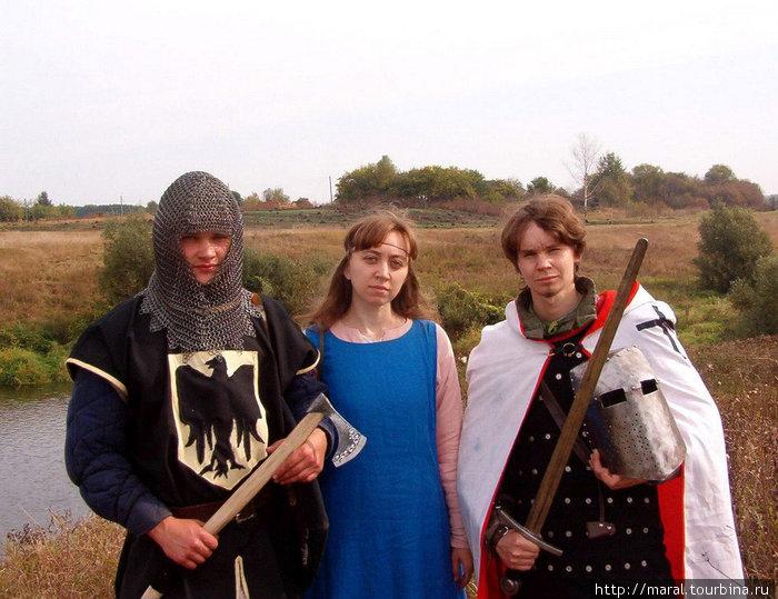 Юлию Шарапову всегда сопровождают настоящие рыцари