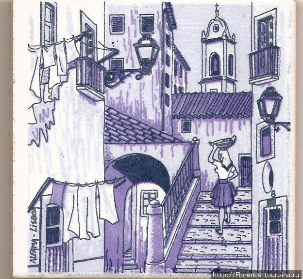 Azulejos - сувенир из Португалии Португалия