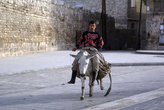 На улице в Старом городе Алеппо