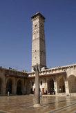 Угол внутреннего двора мечети Омейядов