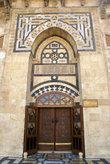 Вход в молельный зал из внутреннего двора в мечети Омейядов