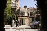 Во внутреннем дворе в центре Алеппо