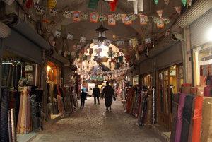Центр Алеппо — один большой базар