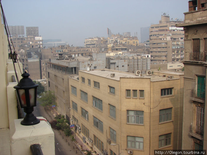 Вид на Каир сверху