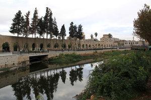 Канал в центре Хамы