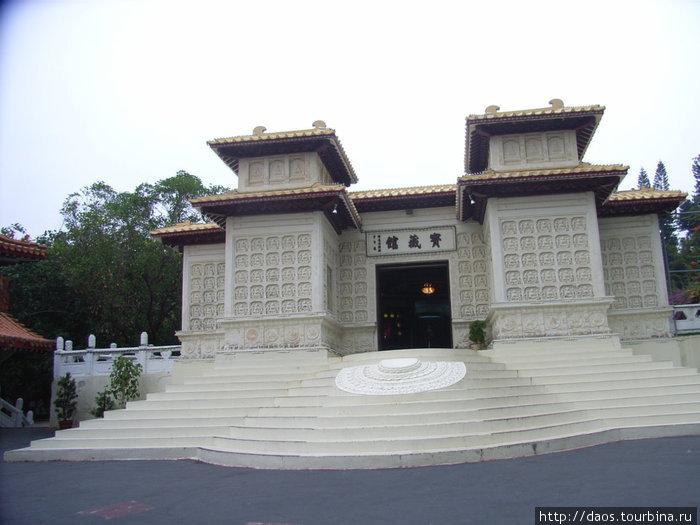 Вход в музей истории буддизма