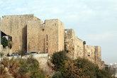 Крепость построена во времена крестоносцев, перестроена при мамлюках