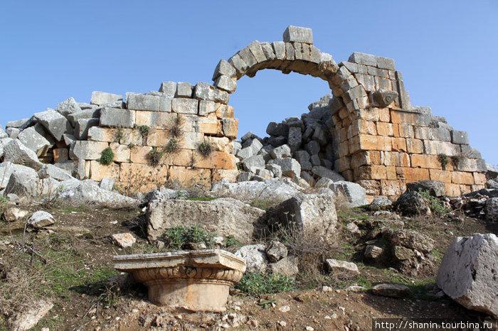 Антиохийские ворота в Афамии