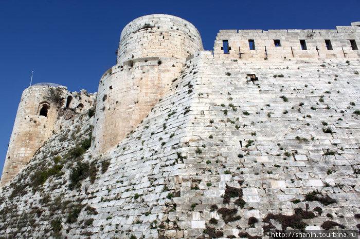 Внутренний замок Крак де Шевалье