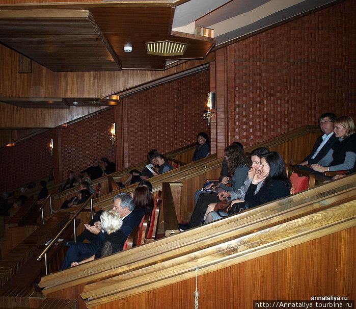 Балкон Вильнюсского театра оперы и балета