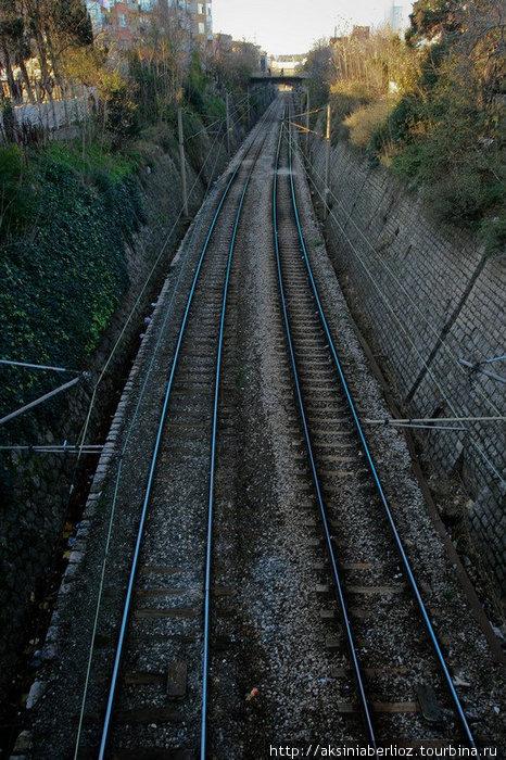 железная дорога Стамбул, Турция