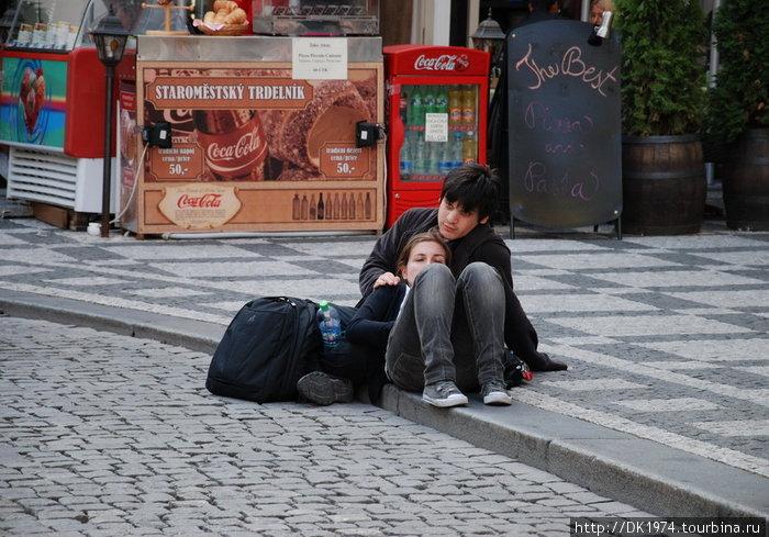 Прага люди