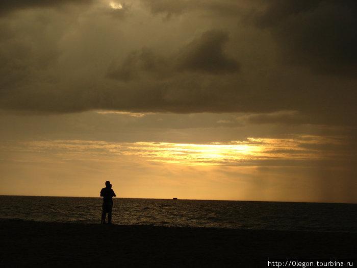 Закат в Негомбо