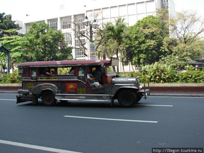 Самый популярный транспорт Филиппин