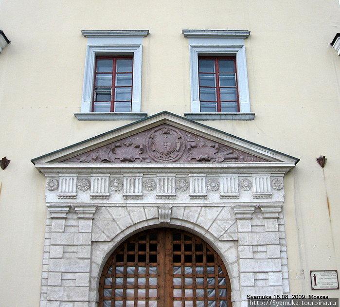 Фрагмент входа в замок.