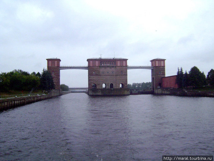 Шлюзы в Рыбинске