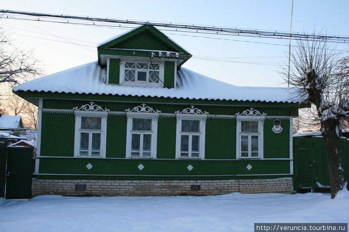 Типичный домик старого города.