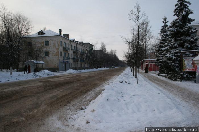 И типичная улица.