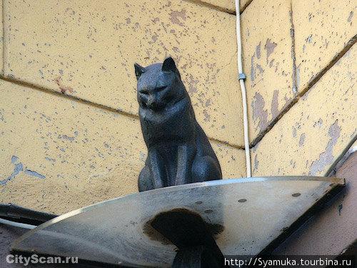 Памятник Коту  Елисею ( фото, по описанной выше причине, пришлось взять из интернета).