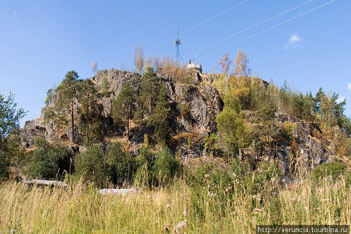 Линнавуори (Крепостная гора) в Хийтола.