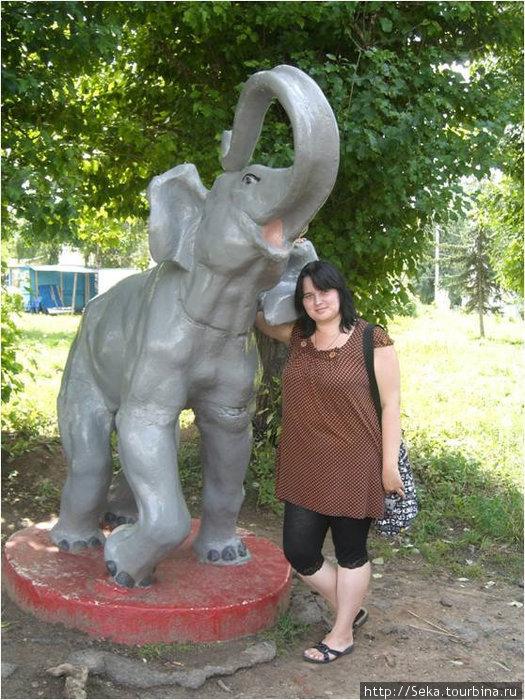 В Зооботаническом саде