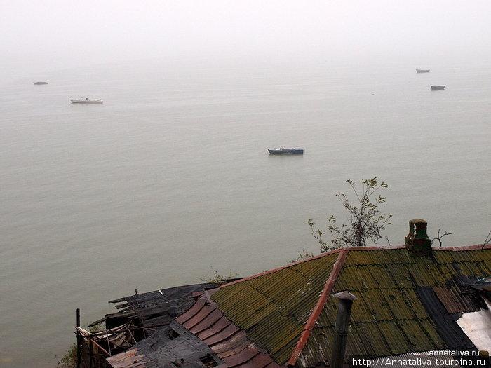 Вид на Азовское море с Бугудонии