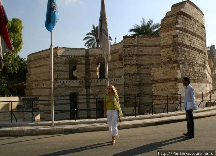 Остатки римской крепости Вавилон