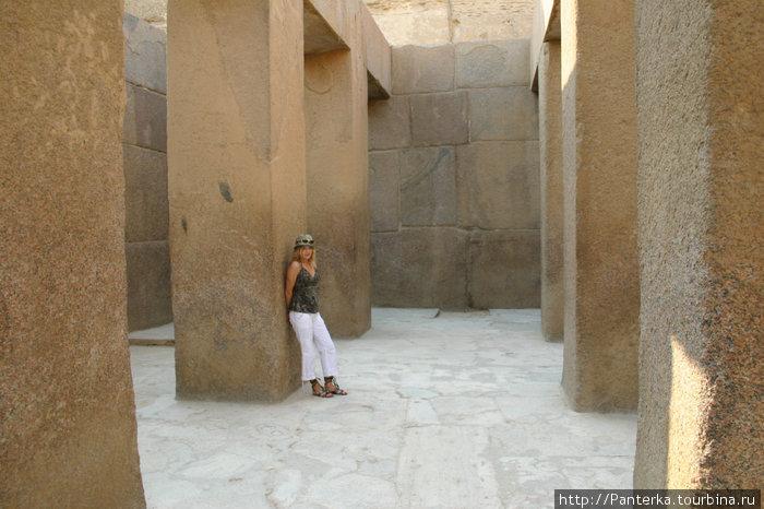 В Египте постоянно чувствуешь себя мелкой мошкой...