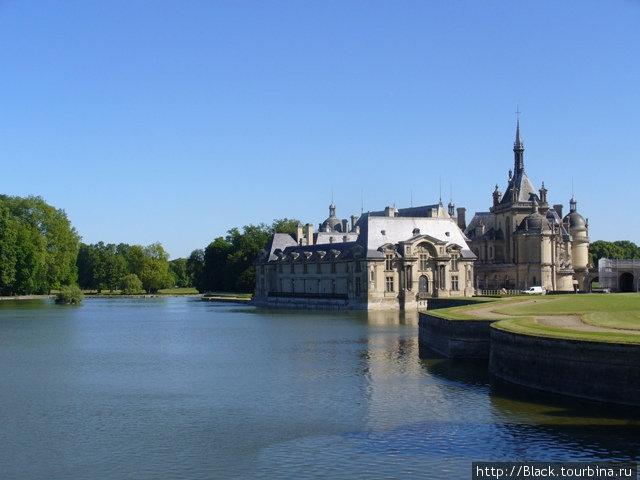 Замки Франции: Шантийи Шантийи, Франция