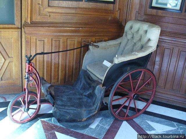 Древнефранцузский велосипед (или самокат)