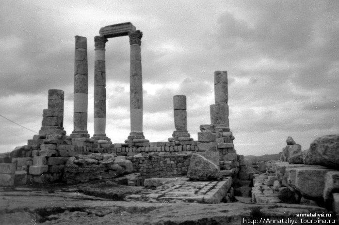 Остатки греко-римского храма
