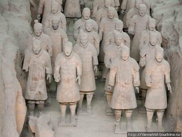 Терракотовая армия (Гробница первого императора династии Цинь) Сиань, Китай