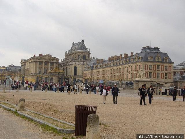 Подходы к версальскому дворцу