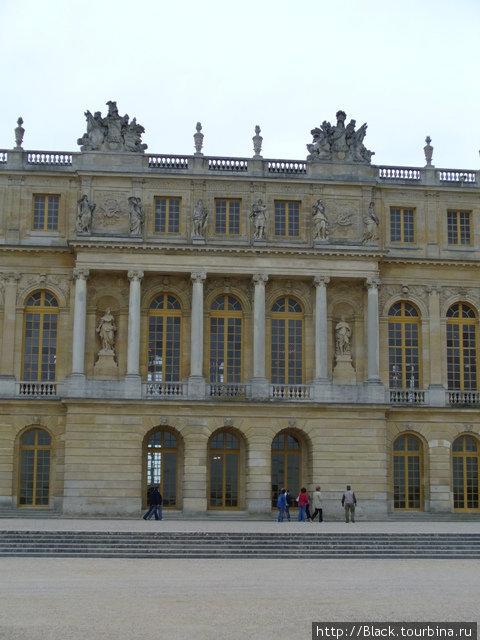 Архитектурные элементы Версальского дворца