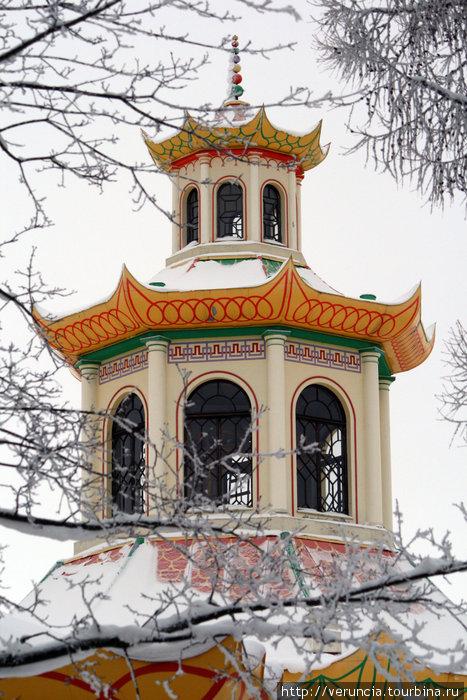 Крыша Китайской деревни