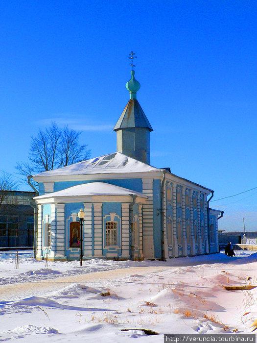 Старая церковь в центре города