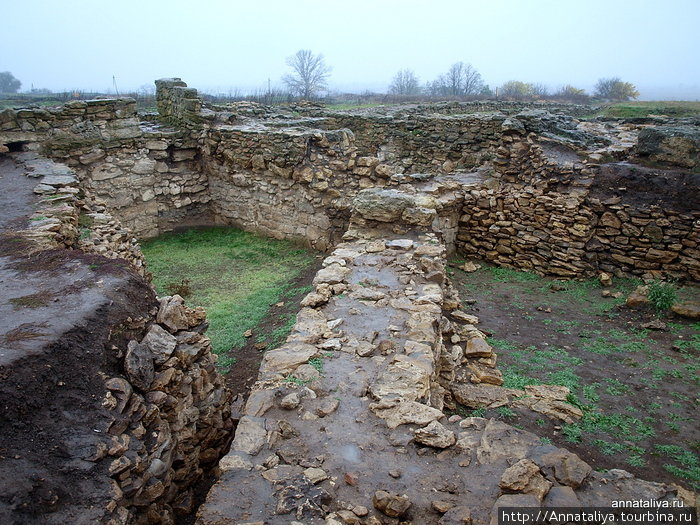 Остатки города танаитов