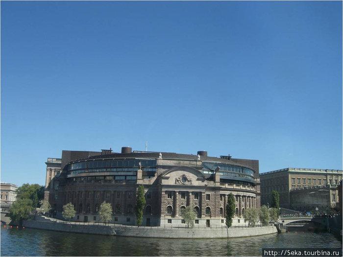 Здание Шведскоо парламента