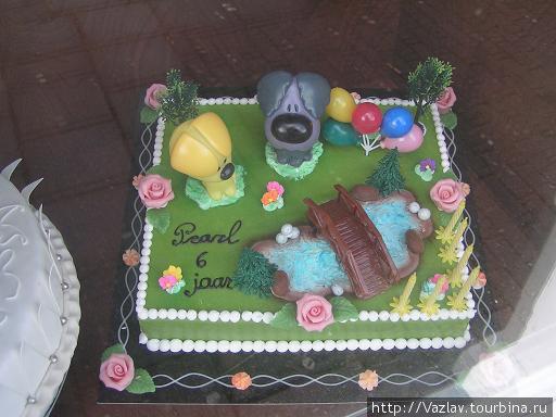 Звериный торт