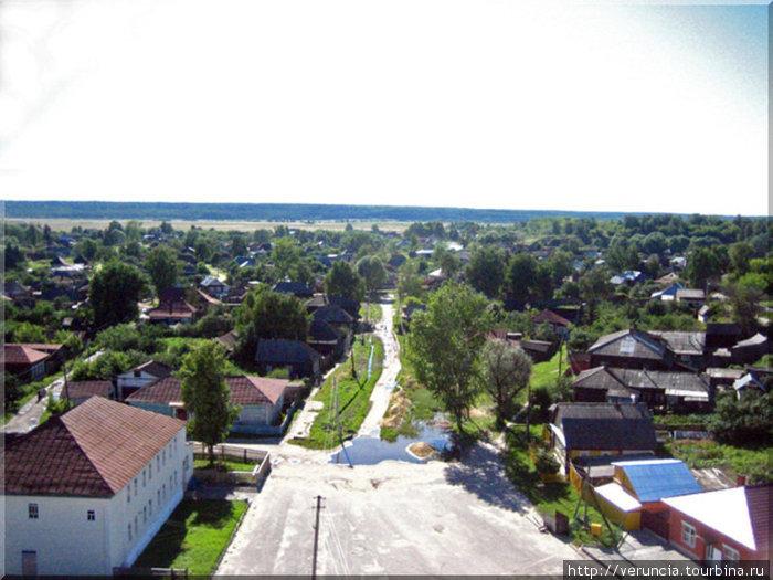 Вид на город с колокольни