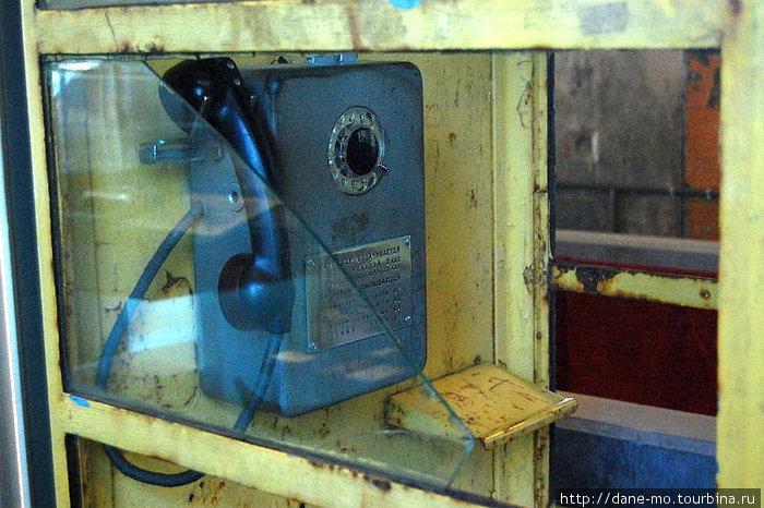 Советский таксофон