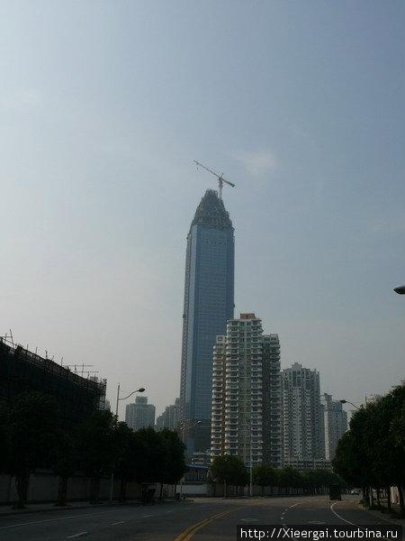 Строительство небоскрёба